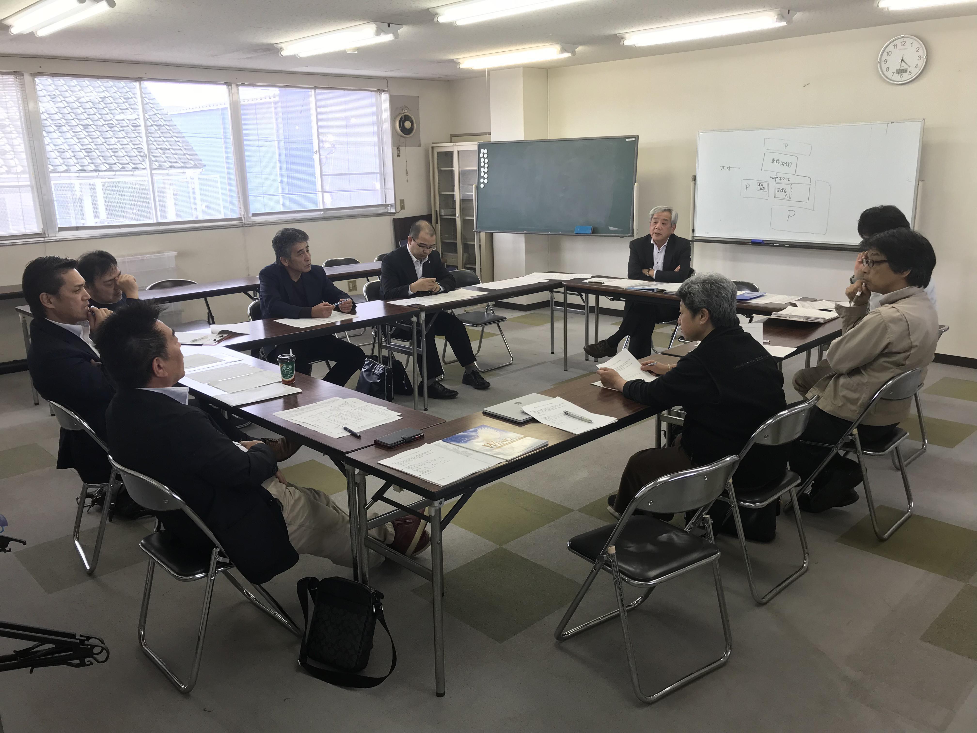 【フェスタ2018 第3回実行委員会】