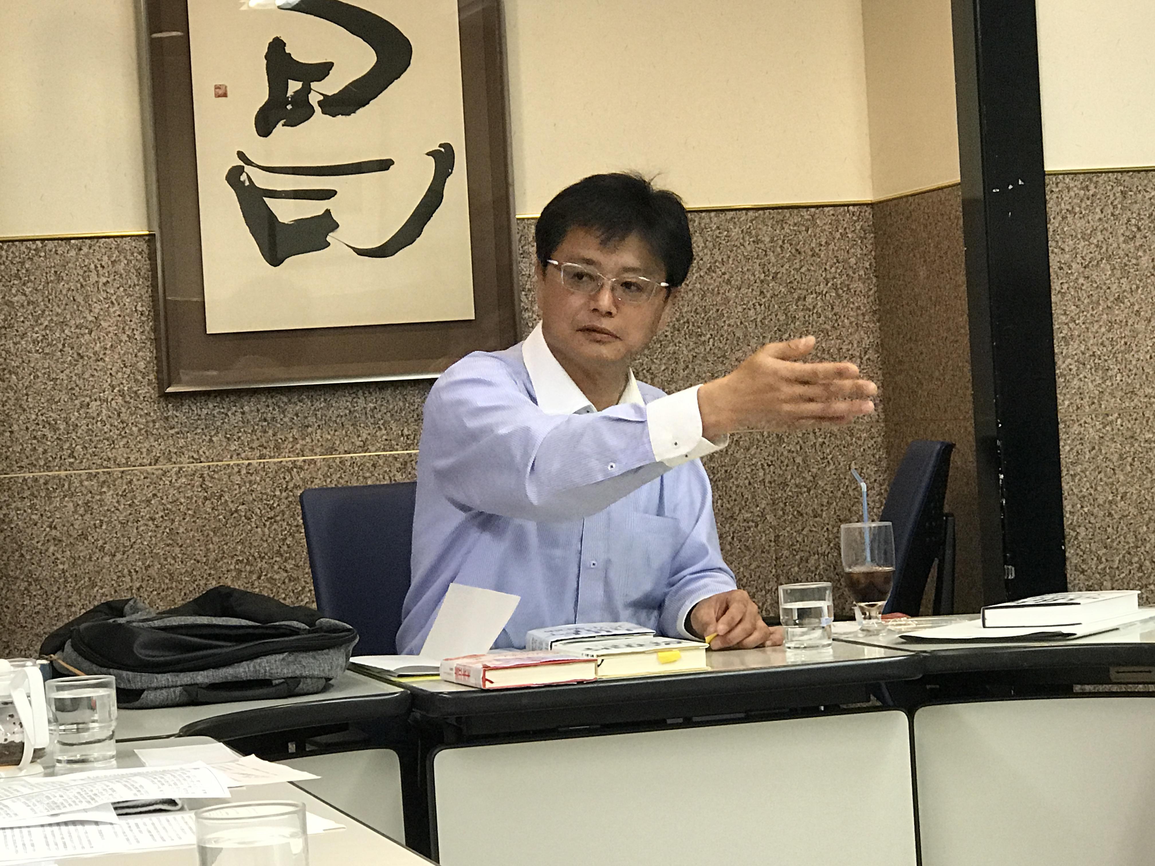 城南グループ会 松岡講師