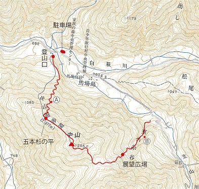 中山 地図