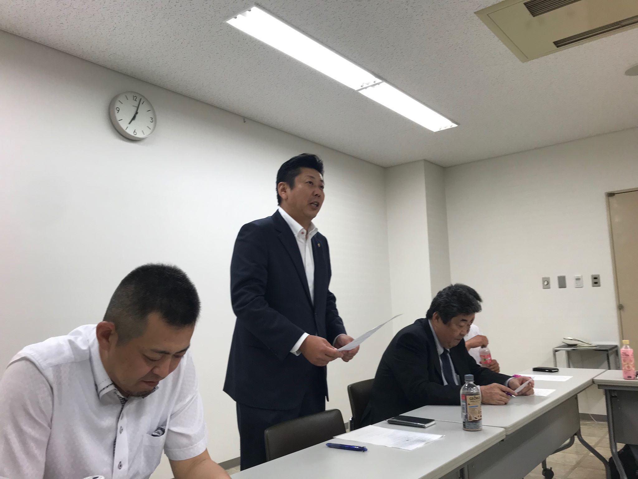 5月度となみ野支部社外重役会議開催!