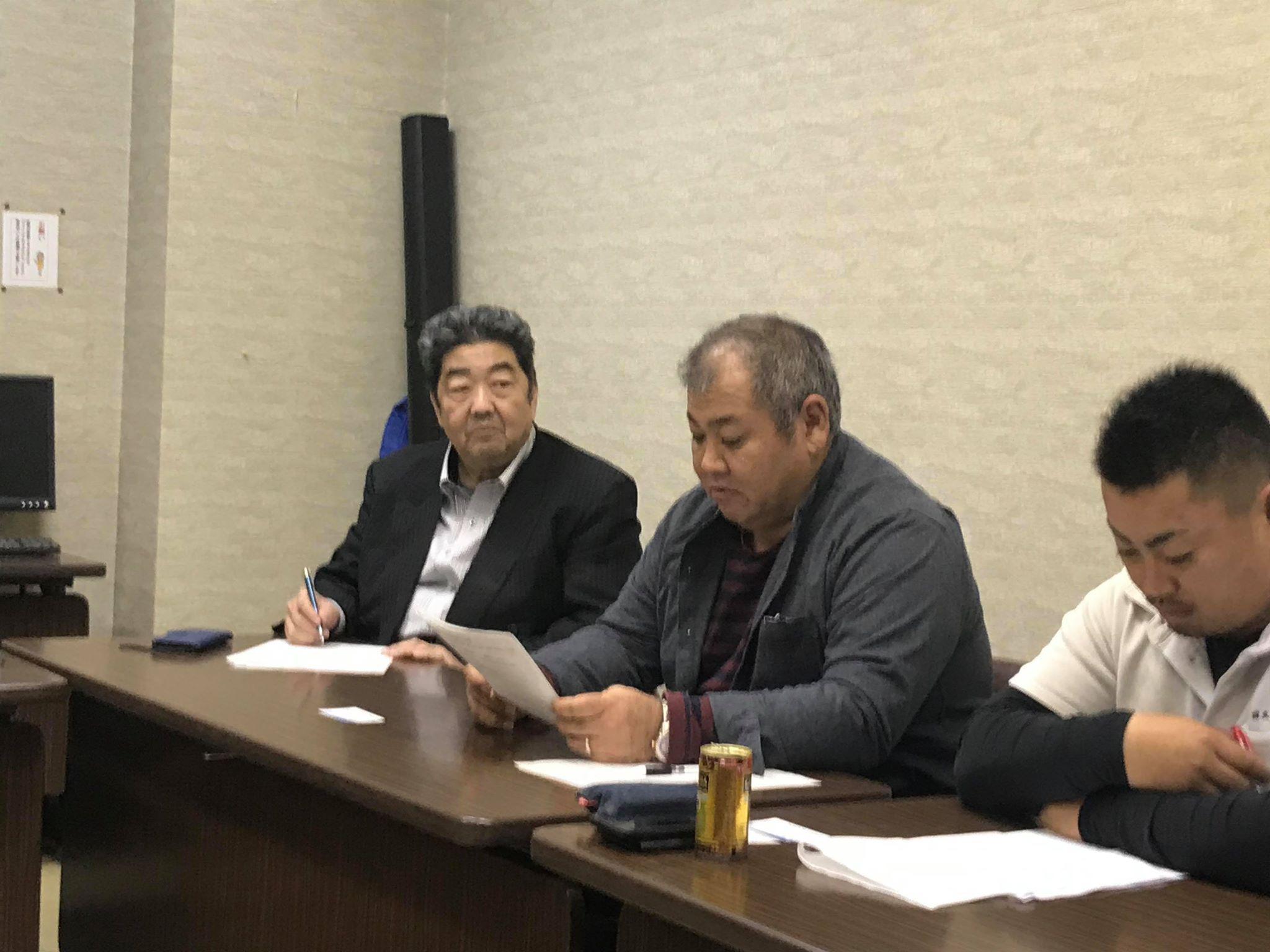 11月度となみ野支部社外重役会議が開催されました。