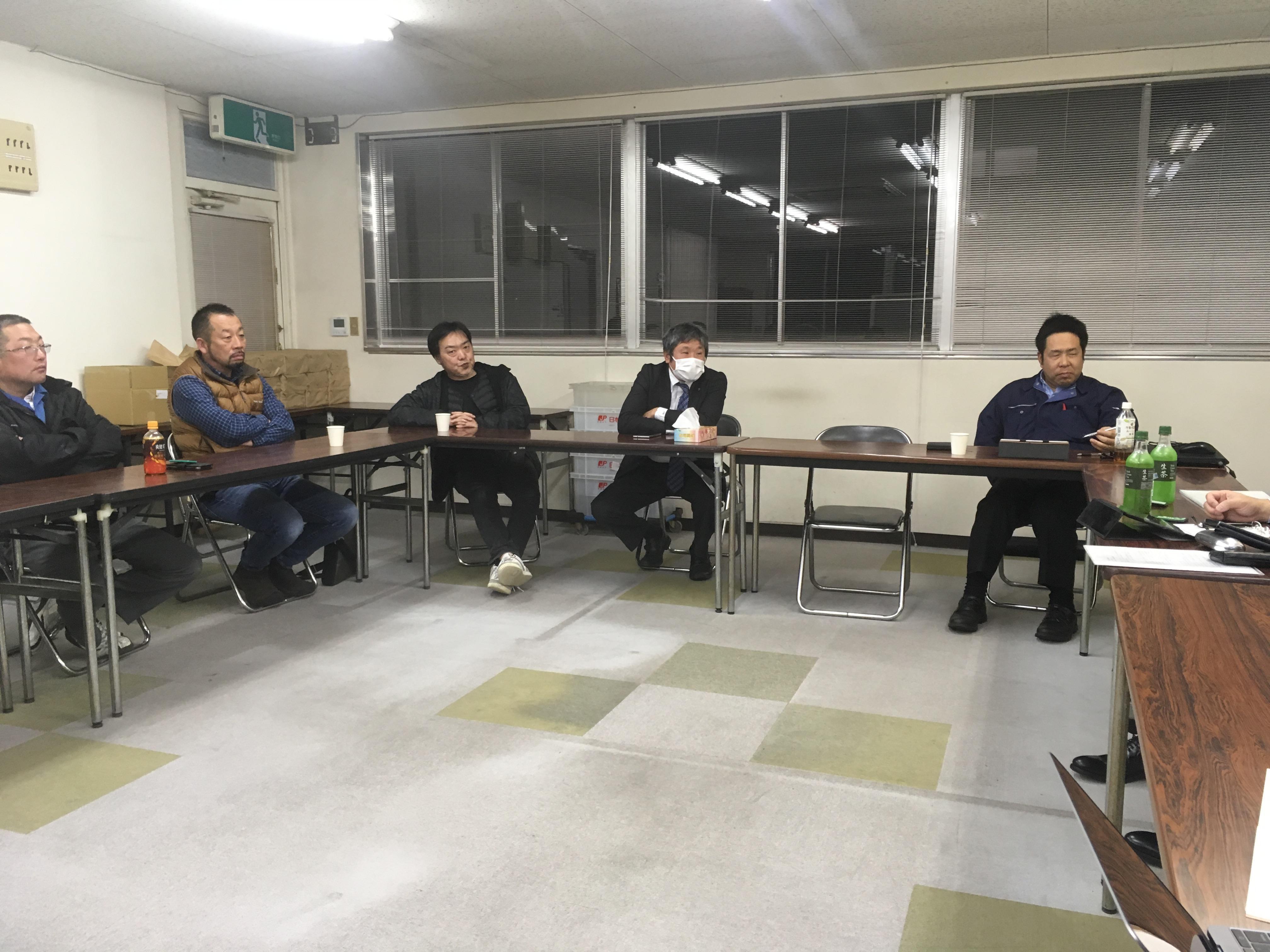 なんでも話せる経営談義の場〜城北JAM!2019/01/08