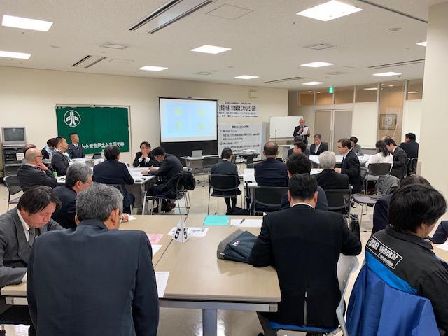 高岡支部2月例会、新川支部松井幹事長地域貢献を熱く語る!