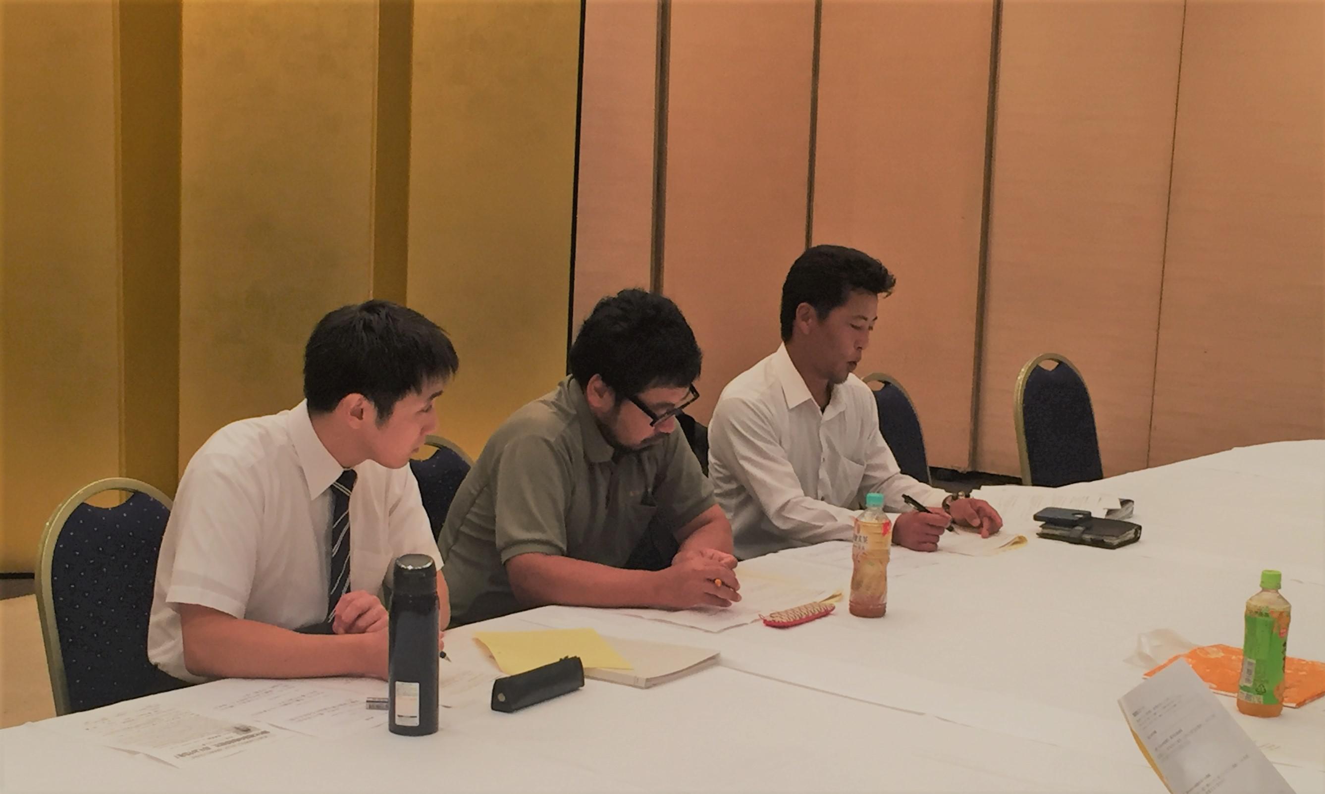 9月18日は新川支部の指針入門最終講でした