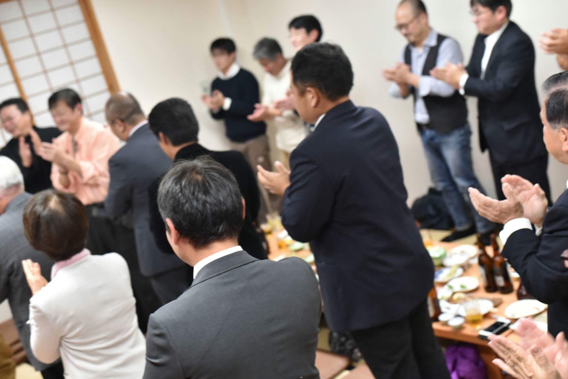 模範とされる新川支部_望年会!