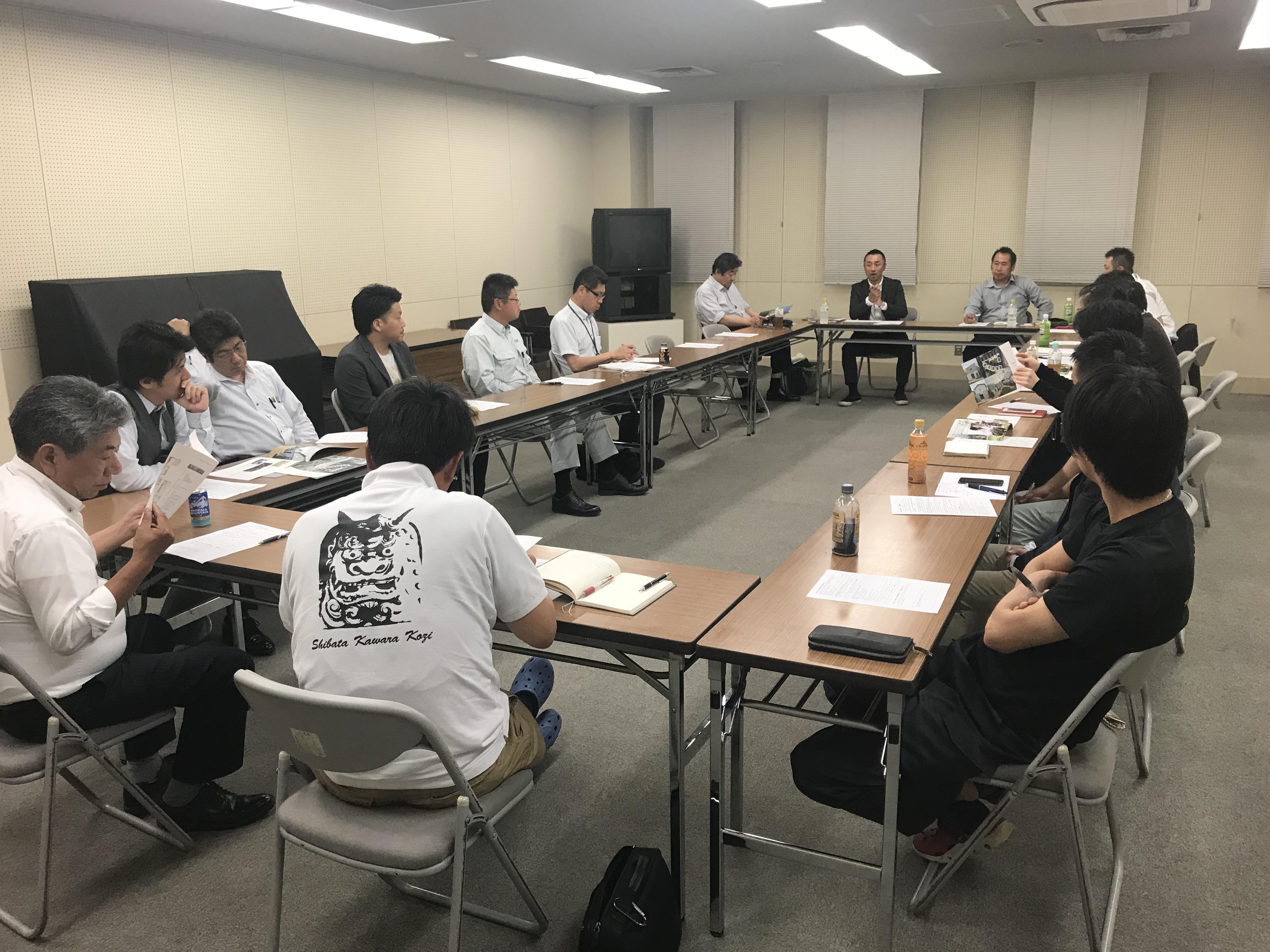 となみ野支部 第二回社外重役会議開催!