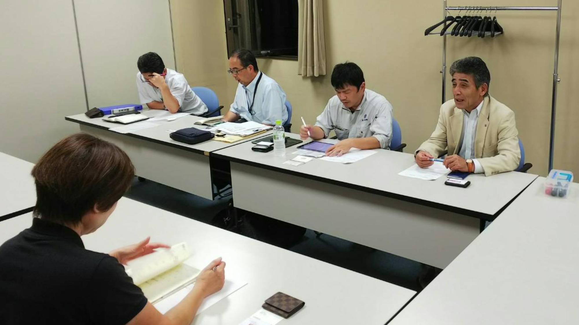 【氷見支部】初めての幹事会を開催!